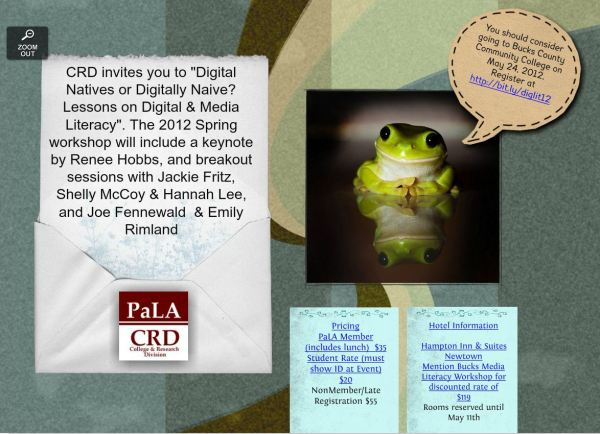 CRD image for the 2012 Spring Workshop