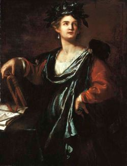 Gentileschi,_Artemisia_-_Clio_-_1632