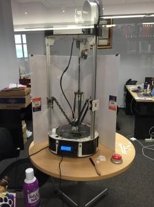 Rostock Max v. 2 3D Printer