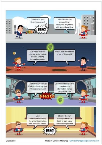 Super Info Cartoon Example