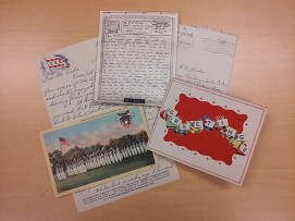 Assorted World War II items from the Robert E. Eiche Collection.