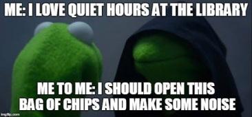 kermit quiet