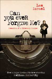 Book cover of Can You Ever Forgive Me? by Lee Israel