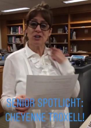 michelle senior spotlight