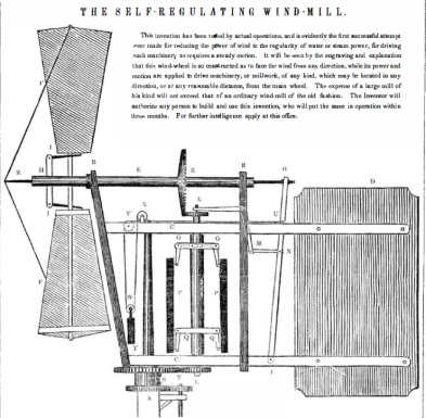 The Self-Regulating Wind-Mill
